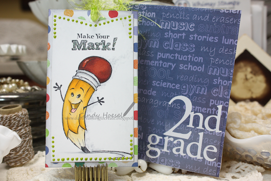 Whimsy Stamps.....bookmark!! Back to School