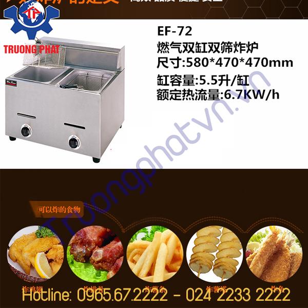 Giới thiệu bếp chiên nhúng đơn ZLT1