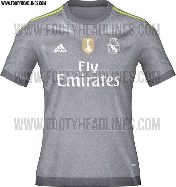 1c05ae1928 La segunda camiseta del Real Madrid 2016 será muy diferente (foto)