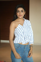Avantika Mishra in One Shoulder Crop Top and Denim Jeggings ~  Exclusive 030.JPG