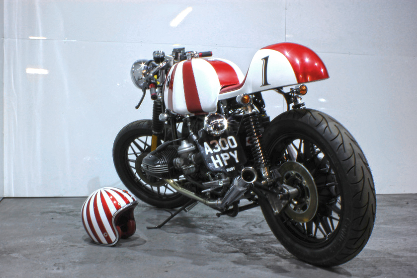 bmw r80 ruby racer ~ return of the cafe racers