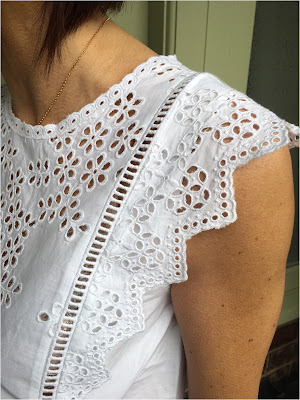 My Midlife Fashion, Boden Broderie Top