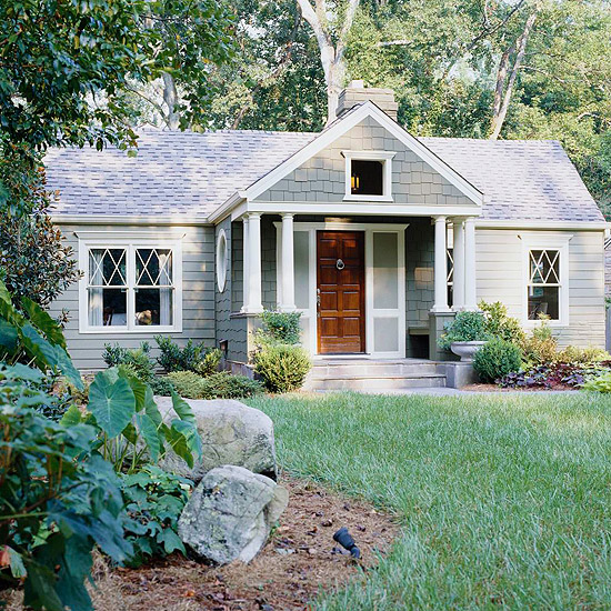 Home Exterior Makeover: Oakview Cottage: Before And After: Pretty Home Exteriors
