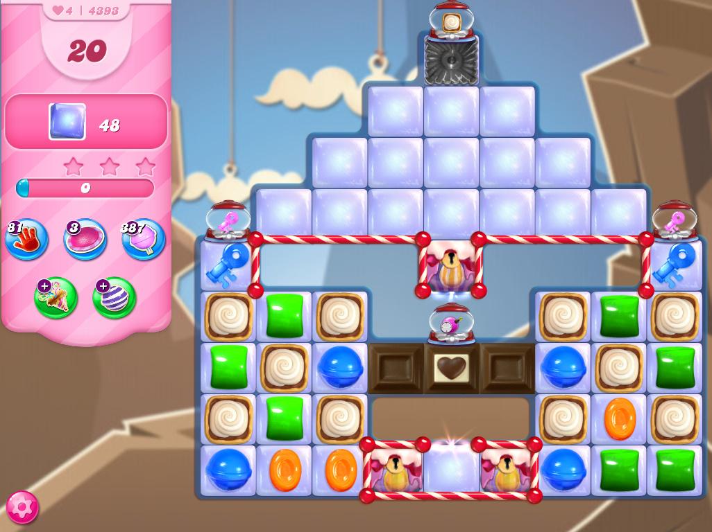 Candy Crush Saga level 4393