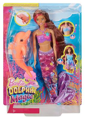 BARBIE y los delfines mágicos - Muñeca Sirena Mágica | Mattel 2017 | Película | CAJA JUGUETE