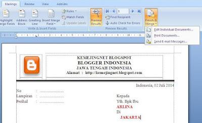 Cara Praktis Cetak Undangan Dengan Mailings