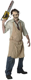 Leatherface Texas, Chainsaw Massacre,Halloween Costume, Horror Movie Character Costume, Stephen King Store