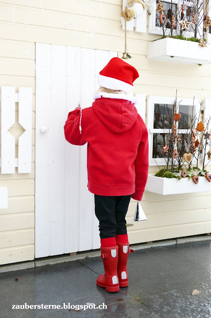 Nikolaus Kostüm selber machen, Hunter Kinderstiefel