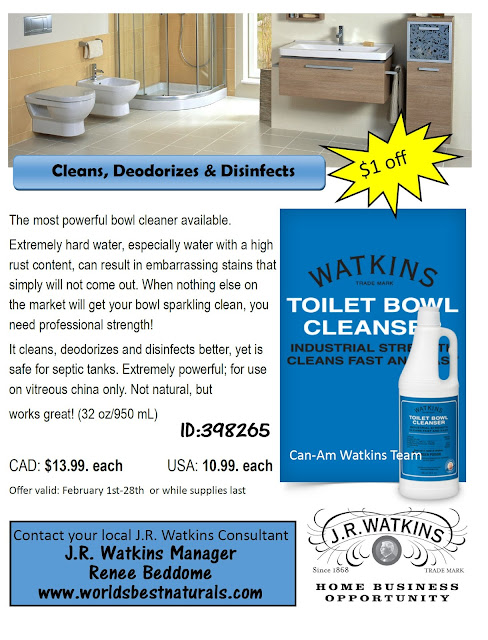 Watkins Toilet Bowl Cleaner