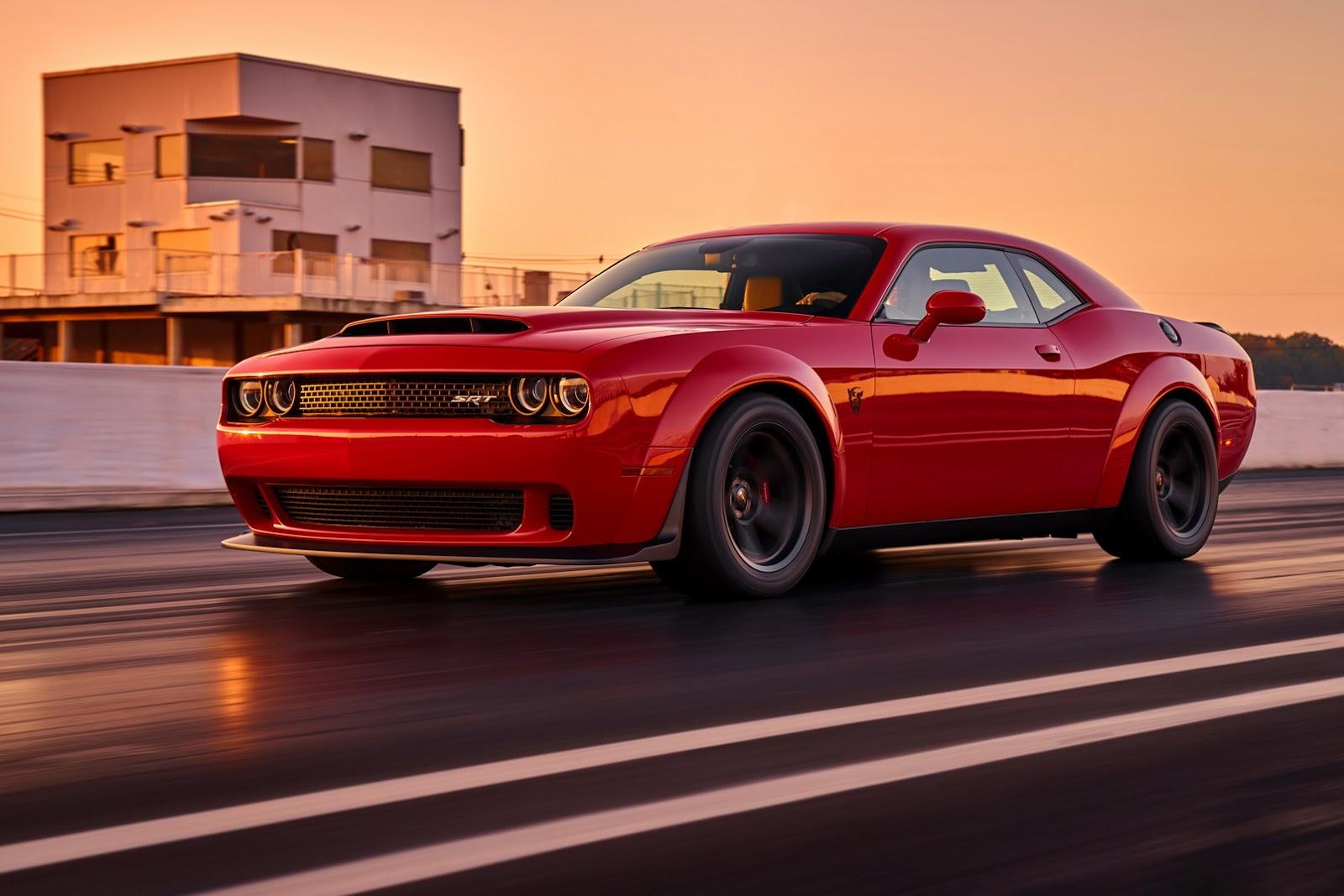 2018 Dodge Challenger Demon Hits eBay With Stupid $250k Price ...