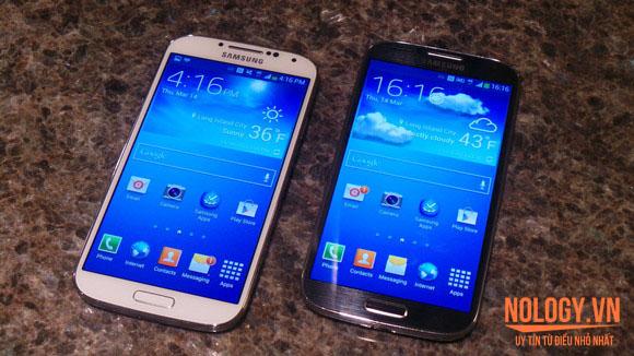 Samsung Galaxy S4 cũ 2 bản đen trắng