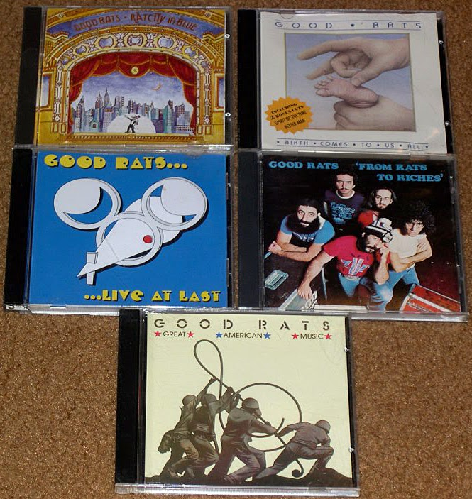 The Good Rats cd's