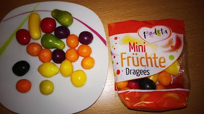 Früchte als Dragees