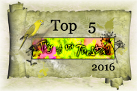 Top 5 with my reef art journal page