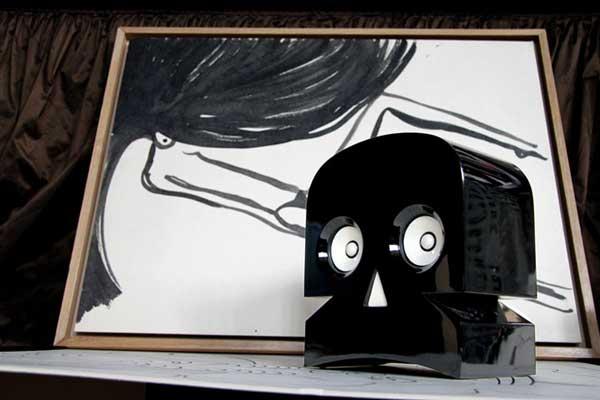 Stranger Than Vintage: Monday Design: Skull Home Decor