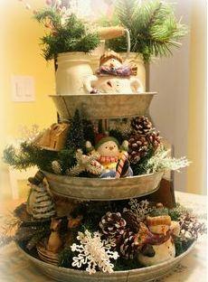 Navidad, Centros de  Mesa Originales