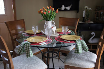 Farmhouse Breakfast With Tulips!