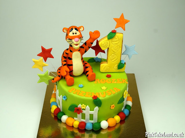 Tigger Too Birthday Cake london