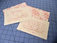 Cartulinas para decoración interior del libro de firmas de comunión