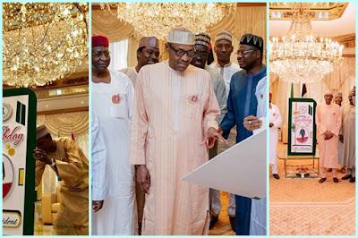 President Buhari 75th birthday celebration at Aso Rock