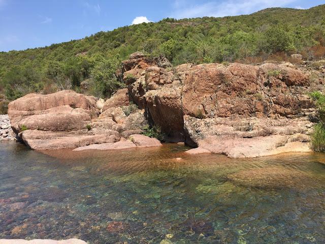 Fango Fluss in Korsika