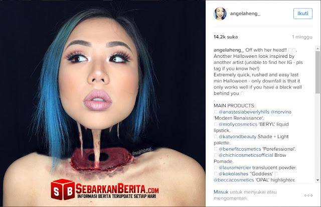 Mengerikan !!! Wanita Luar Biasa Ini, Bisa Bikin Lehernya Nyaris Putus, Ini Videonya .