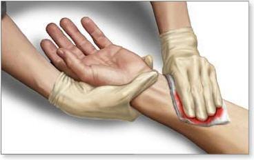 الإسعافات الأولية للجروح البسيطة