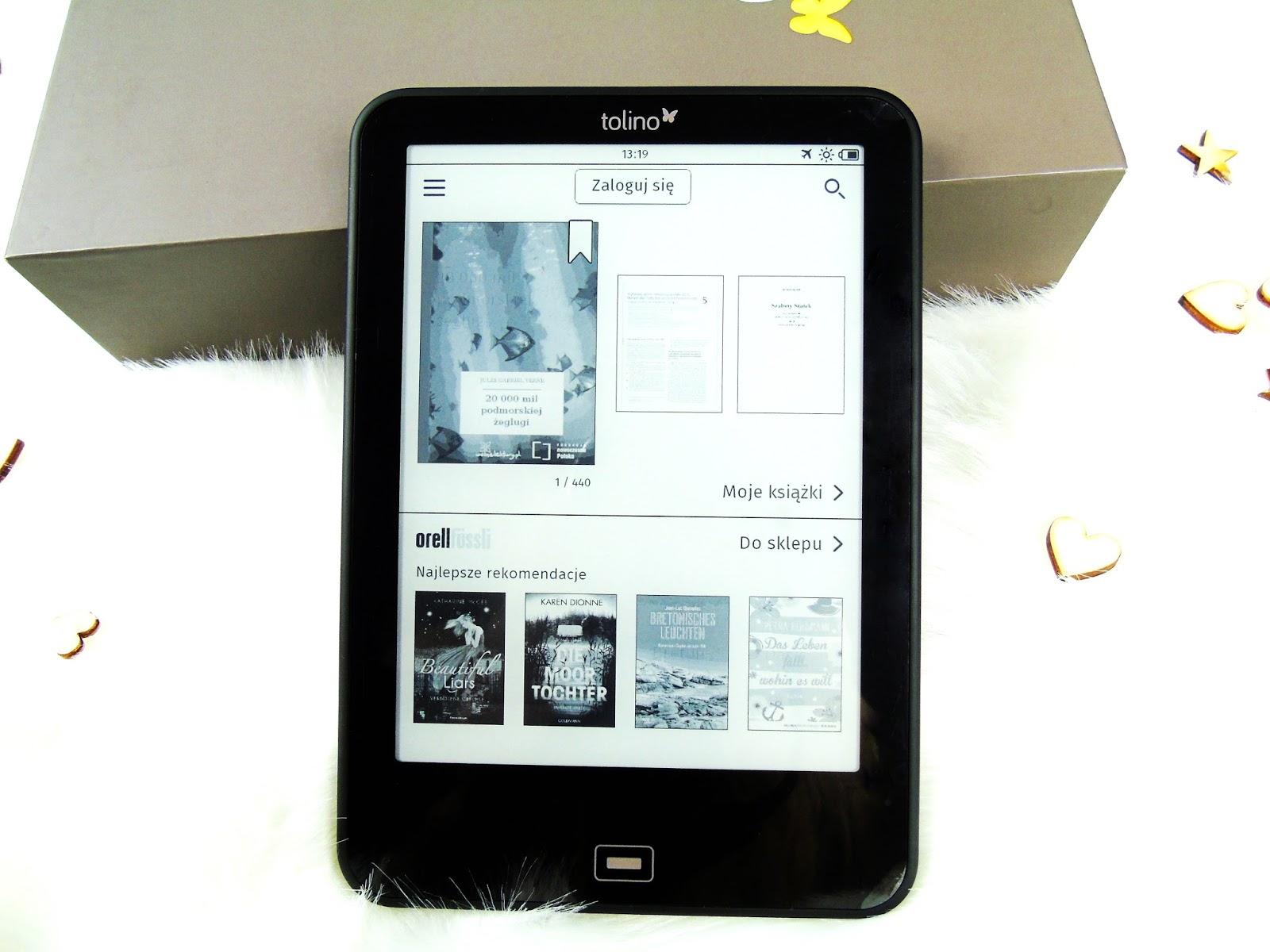 Tolino Vision 2 - Wodoodporny czytnik E-booków w najwyższej, niemieckiej jakości!
