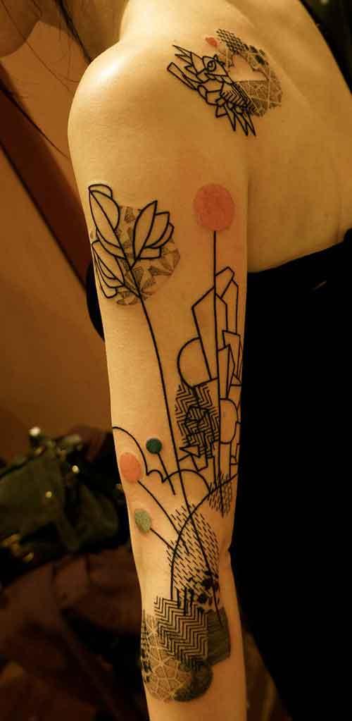 kadın kol dövmeleri tumblr arm tattoo for woman