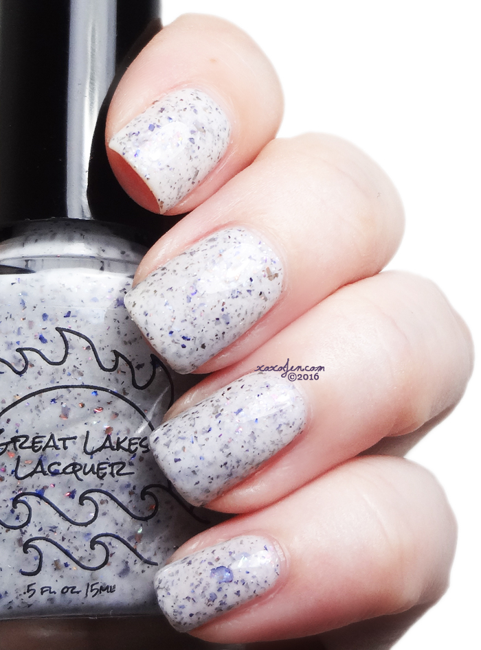 xoxoJen's swatch of Great Lakes Lacquer Out Like a Lion