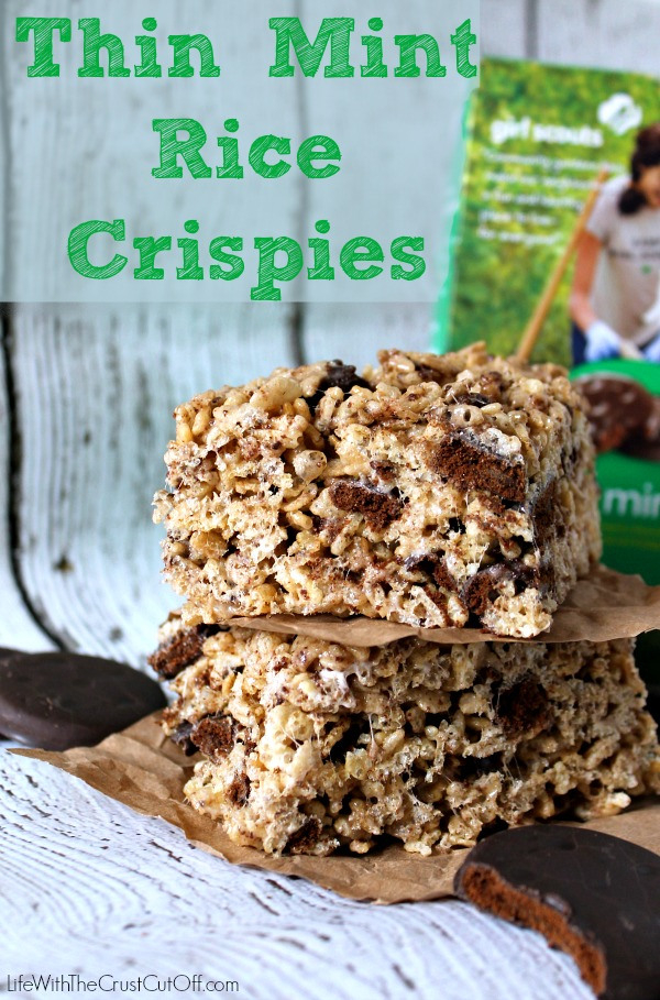 Thin Mint Rice Crispies 5 Girl Scout Inspired Treats 17