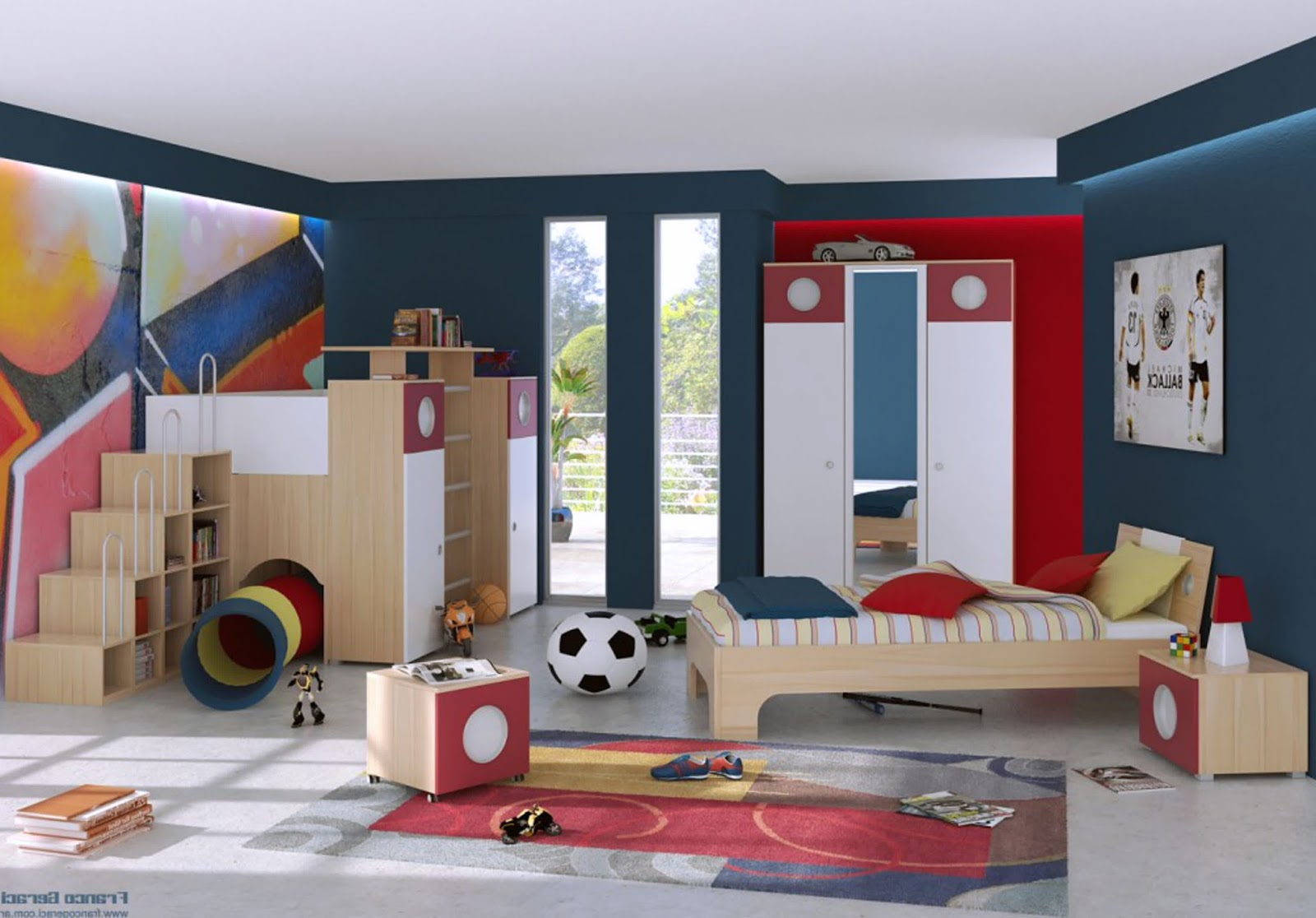 id e d coration de chambres enfants b b et d coration. Black Bedroom Furniture Sets. Home Design Ideas