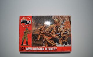 Airfix russian infantery 1/32 scale