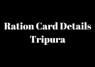 Tripura_Ration_card_details_Status_online