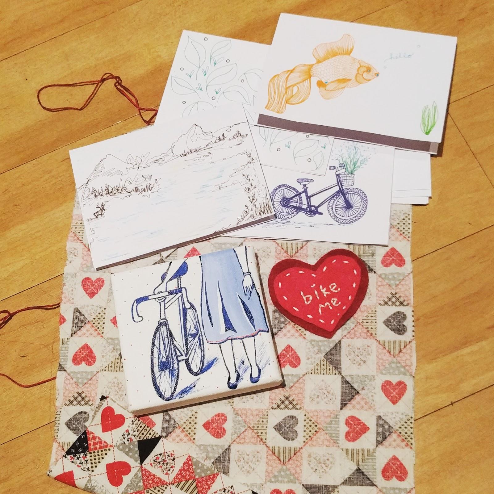 Bartacks And Singletrack Secret Valentine Exchange 2017 Giving