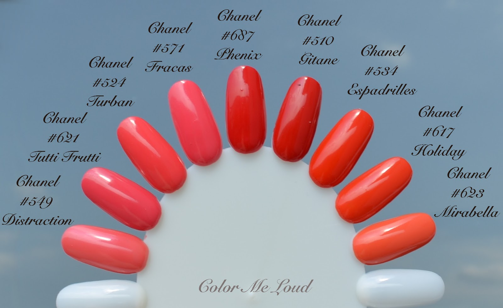 Chanel Tutti Frutti Nail Polish Swatch Nail Ftempo