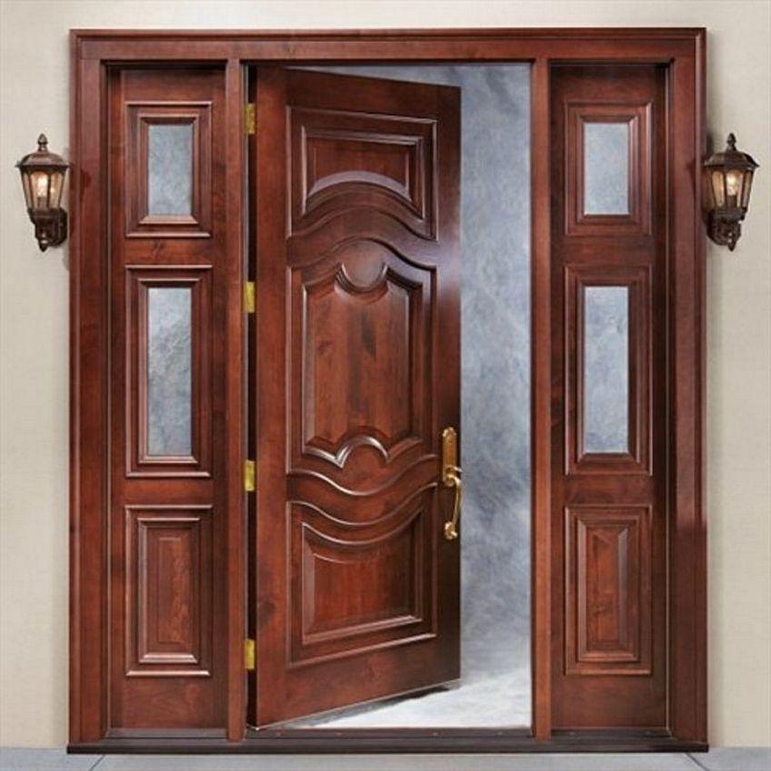pintu depan rumah mewah 3