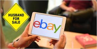سيدة المانية تعرض زوجها للبيع بموقع ايباي Ebay
