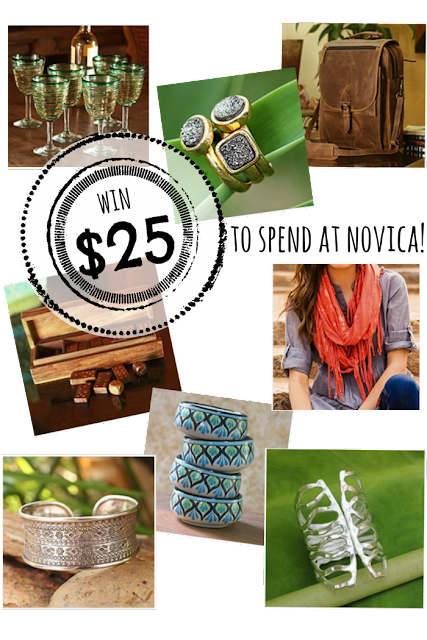Win a $25 NOVICA Gift Card - it's holiday shopping time!