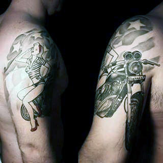 60+ Best Army Tattoos for Female (2019) Military, Soldiers