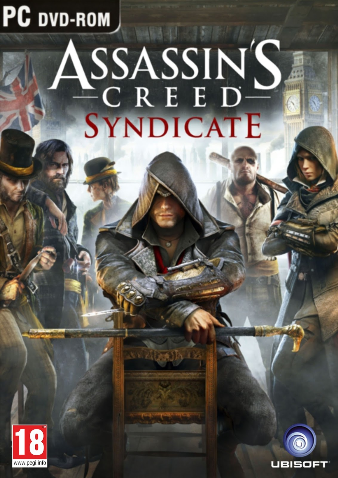 Assassin'S Creed Syndicate ESPAÑOL PC Full Cover Caratula