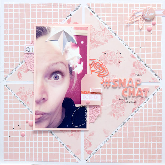 Scrapbooking Layout mit Dear Lizzy Lovely Day