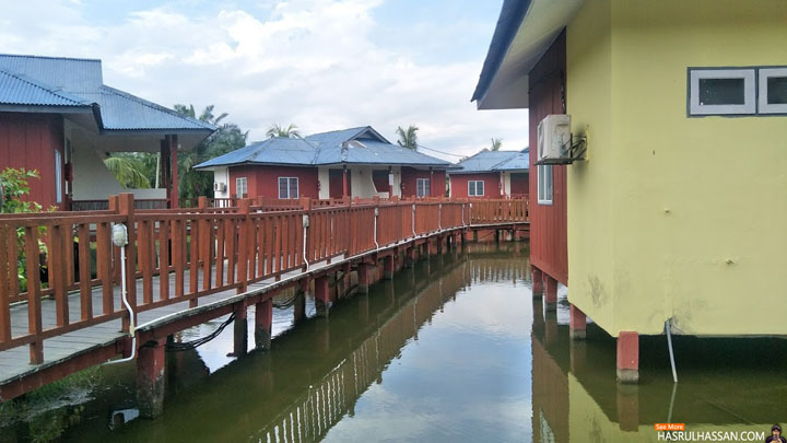 Chalet di Firefly Park Resort, Kuala Selangor
