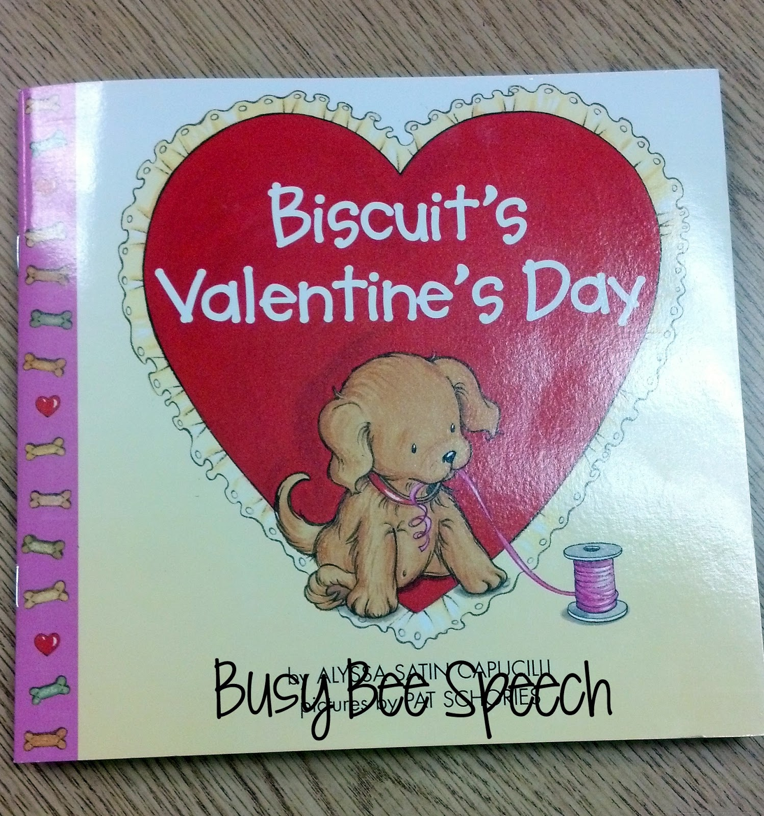 Busy Bee Speech Biscuit S Valentine S Day