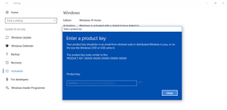 Cara Upgrade Windows 10 Home ke Windows 10 Pro