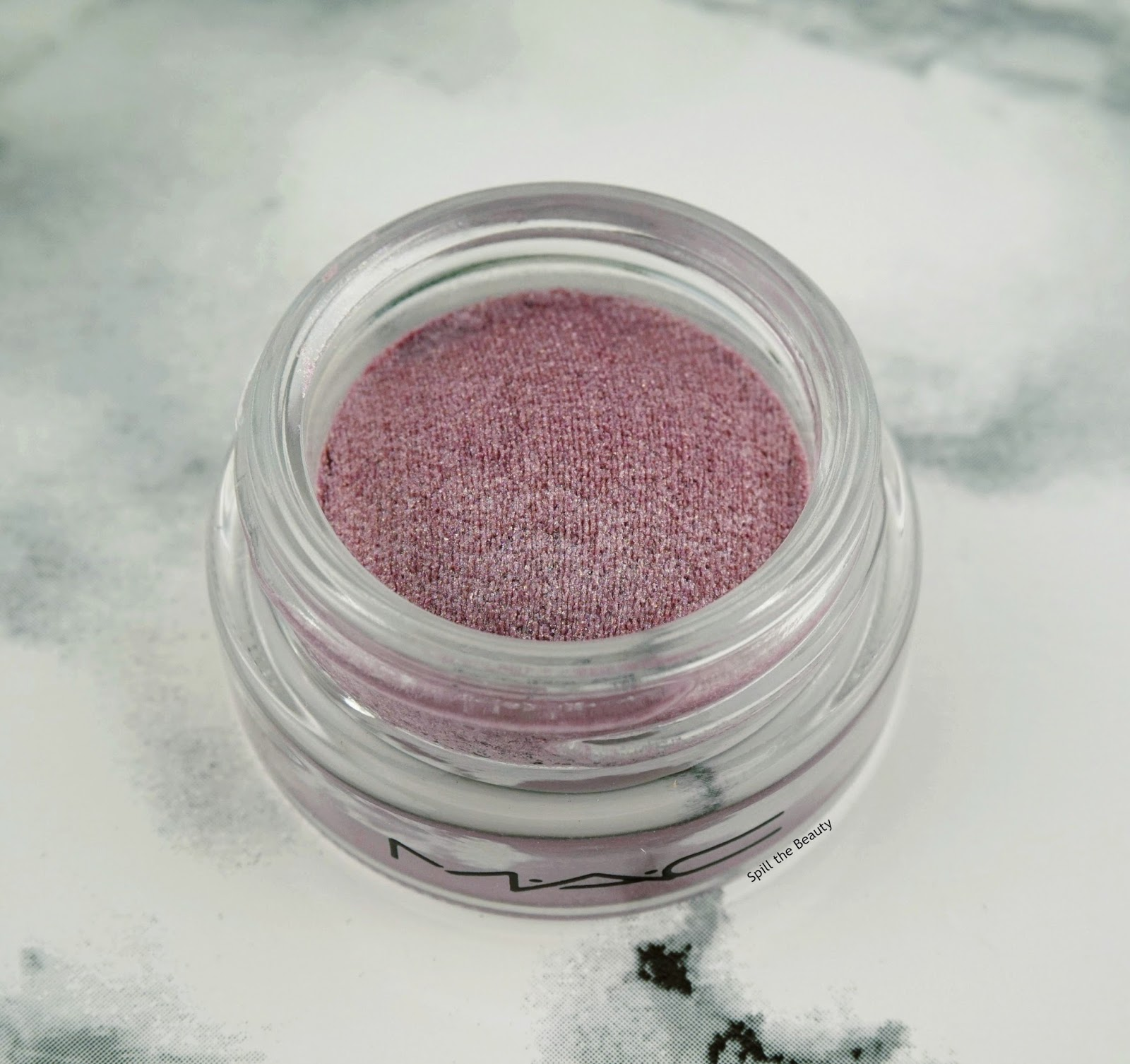 MAC Soft Serve Eye Shadow in Girls Girls swatch review