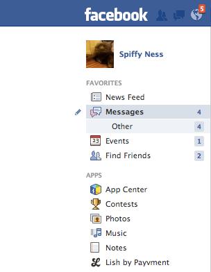 Temukan Pesan yang Disembunyikan Facebook