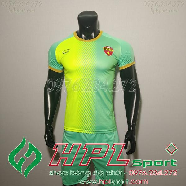 Áo bóng đá đội tuyển Việt Nam Fifa 4 xanh