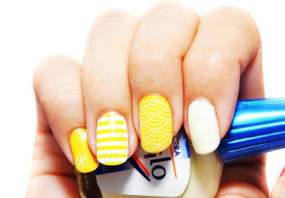 manicura amarilla 74
