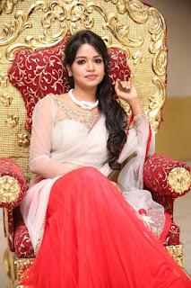Actress Bhavya Sri Pictures at Pochampally IKAT Art Mela Inauguration  0018.jpg